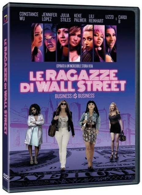 Le ragazze di Wall Street (DVD) di Lorene Scafaria - DVD