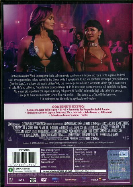 Le ragazze di Wall Street (DVD) di Lorene Scafaria - DVD - 2