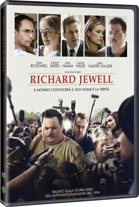 Richard Jewell (DVD) di Clint Eastwood - DVD