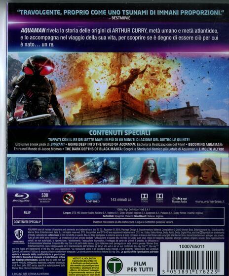 Aquaman. Collezione DC Comics (Blu-ray) di James Wan - Blu-ray - 2
