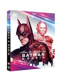 Cover Dvd Batman & Robin. Collezione DC Comics (Blu-ray)