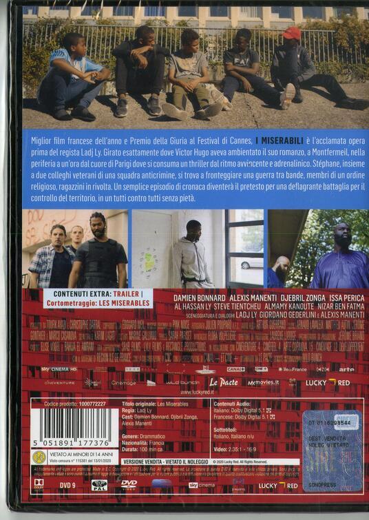 miserabili di Ladj Ly - DVD - 2