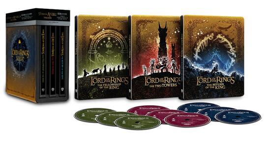 Film Il Signore degli anelli. La Trilogia. Con Steelbook (9 Blu-ray Ultra HD 4K) Peter Jackson