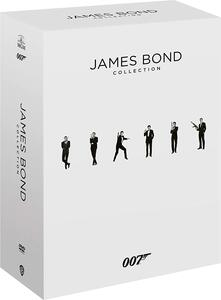 007 James Bond Collection 24 Film (Blu-ray) di Martin Campbell,Irvin Kershner,Sam Mendes,Terrence Young