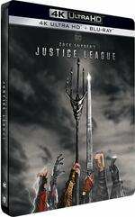 Zack Snyder's Justice League. Steelbook (Blu-ray + Blu-Ray Ultra HD 4K)
