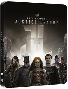 Film Zack Snyder's Justice League. Steelbook (4K Ultra HD + Blu-ray) Zack Snyder