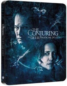 Film The Conjuring 3. Per ordine del diavolo. Steelbook (Blu-ray + Blu-ray Ultra HD 4K) Michael Chaves