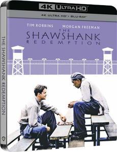 Film Le ali della libertà. Steelbook (Blu-ray + Blu-ray Ultra HD 4K) Frank Darabont