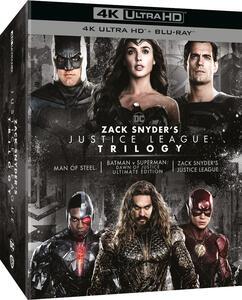 Film Zack Snyder's Justice League Trilogy (4K Ultra HD + Blu-ray) Zack Snyder