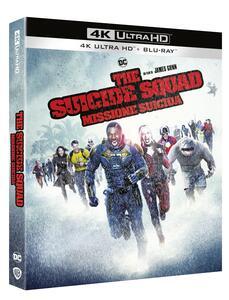 Film Suicide Squad 2. Missione suicida (Blu-ray + Blu-ray Ultra HD 4K) James Gunn