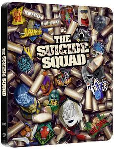 Film Suicide Squad 2. Missione suicida. Steelbook (Blu-ray + Blu-ray Ultra HD 4K) James Gunn