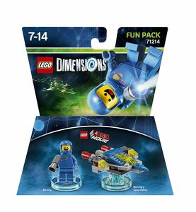 Videogioco LEGO Dimensions Fun Pack LEGO Movie. Benny PlayStation4