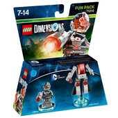 Videogiochi PlayStation4 LEGO Dimensions Fun Pack DC Comics. Cyborg