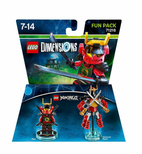 Videogioco LEGO Dimensions Fun Pack LEGO Ninjago. Nya PlayStation4