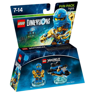 Videogioco LEGO Dimensions Fun Pack Ninjago. Jay PlayStation4