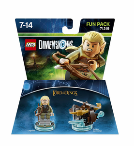 Videogioco LEGO Dimensions Fun Pack Lord of the Rings. Legolas PlayStation4