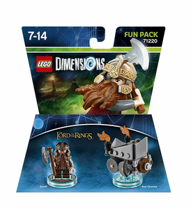 Videogioco LEGO Dimensions Fun Pack Lord of the Rings. Gimli PlayStation4