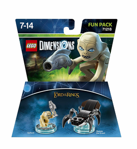 Videogioco LEGO Dimensions Fun Pack Lord of the Rings. Gollum PlayStation4