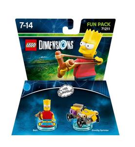 Videogioco LEGO Dimensions Fun Pack Simpson. Bart PlayStation4