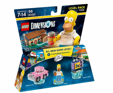 Videogioco LEGO Dimensions Level Pack Simpson. Homer PlayStation4