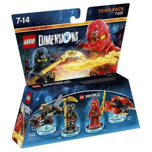 Videogioco LEGO Dimensions Team Pack LEGO Ninjago PlayStation4