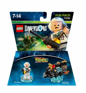 Videogioco LEGO Dimensions Fun Pack Back to the Future. Doc Brown PlayStation4