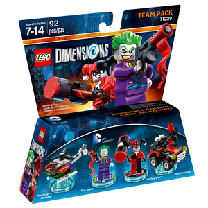 Videogioco LEGO Dimensions Team Pack Joker e Harley Quinn PlayStation4