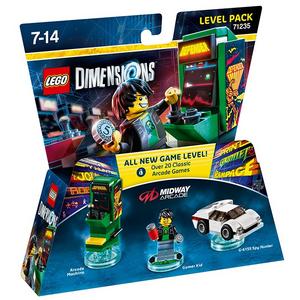Videogioco LEGO Dimensions Level Pack Retro Games PlayStation4