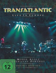Transatlantic. Live In Europe (2 Blu-ray)