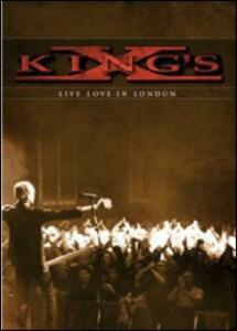 King's X. Live Love in London - DVD