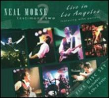 Testimony 2. Live in Los Angeles - CD Audio + DVD di Neal Morse