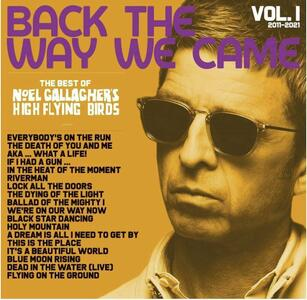 CD Back the Way We Came vol.1 2011-2021 Noel Gallagher's High Flying Birds