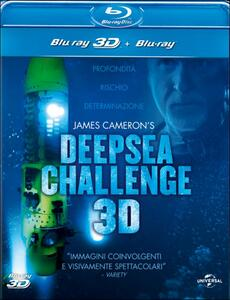 James Cameron's Deepsea Challenge 3D (Blu-ray + Blu-ray 3D) di John Bruno,Ray Quint,Andrew Wight