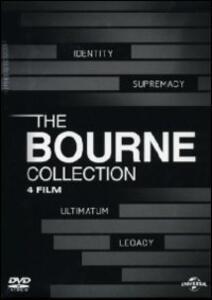 The Bourne Collection (4 DVD) di Tony Gilroy,Paul Greengrass,Doug Liman