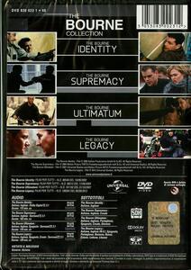 The Bourne Collection (4 DVD) di Tony Gilroy,Paul Greengrass,Doug Liman - 2