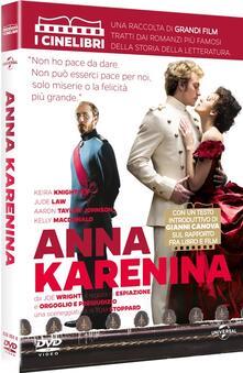 Anna Karenina<span>.</span> CineLibri di Joe Wright - DVD
