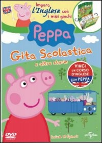 Cover Dvd Peppa Pig. Gita scolastica e altre storie (DVD)