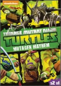 Teenage Mutant Ninja Turtles. Stagione 2. Vol. 1. Il caos dei mutanti - DVD