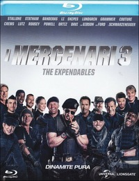 Cover Dvd mercenari 3. The Expendables (Blu-ray)