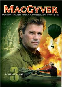 MacGyver. Stagione 3 (5 DVD) - DVD