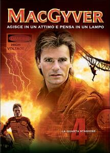 MacGyver. Stagione 4 - DVD
