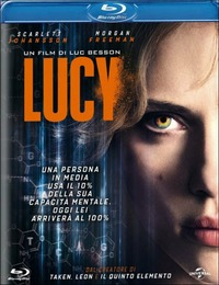 Cover Dvd Lucy (Blu-ray)