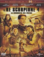 Film Scorpion King 4 Mike Elliott
