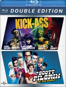 Kick-Ass 2. Scott Pilgrim vs. the World (2 Blu-ray) di Jeff Wadlow,Edgar Wright