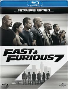 Fast & Furious 7 di James Wan - Blu-ray