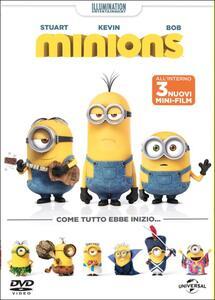 Minions di Pierre Coffin,Kyle Balda - DVD
