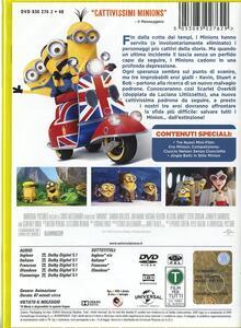Minions di Pierre Coffin,Kyle Balda - DVD - 2