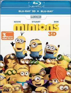 Minions 3D (Blu-ray + Blu-ray 3D) di Kyle Balda,Pierre Coffin
