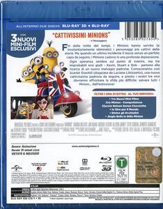 Minions 3D (Blu-ray + Blu-ray 3D) di Kyle Balda,Pierre Coffin - 2