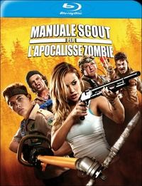 Cover Dvd Manuale scout per l'apocalisse zombie (Blu-ray)
